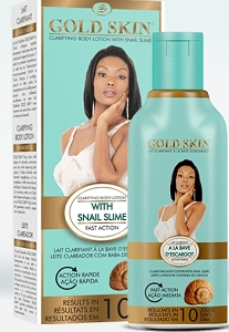 Gold Skin Clarifying Body Lotion With Snail Slime, 250ml, 8.45 fl.Oz.