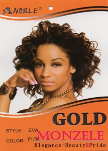 Noble Gold Synthetic Weave Hair Model Eva