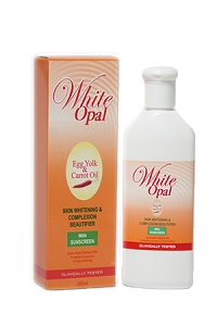 White Opal With Egg Yolk and Carrot Oil 250ml
