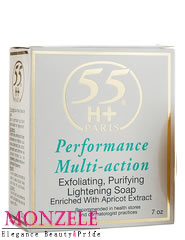 55H+ Paris Performance Multi-Action Body Soap with Apricot Extract (200 g/7 oz)