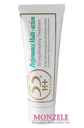 55H+ Paris Performance Multi-Action Body Cream Tube (50 ml/1.7 fl.oz)