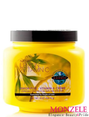 Clear Essence Lemon Plus Vitamin C Body Cream Jar (537 g)