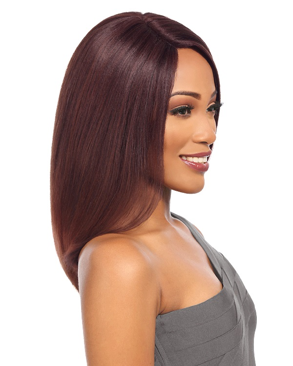 Qingdao JUMIA supplier machine made wig wholesale synthetic Wig African American long straight Wigs For Women Female Wig