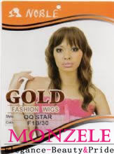 Noble Gold Fashion Wigs qqstar