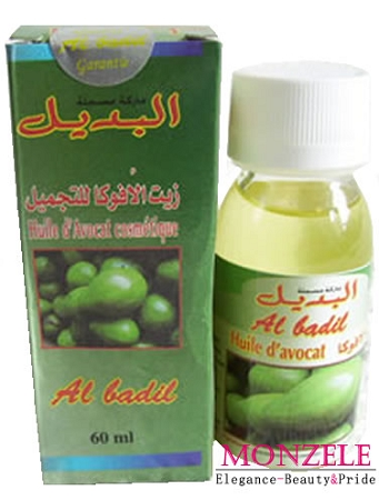 Al Badil Cosmetics Avocado Oil (60 ml)