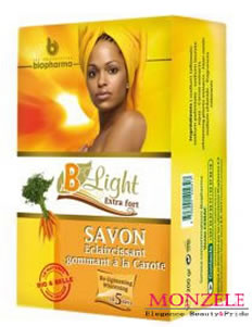 B-Light Exfoliating Carrot Body Soap (200 g/7 oz)