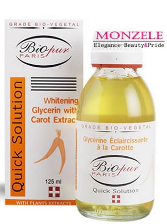 Biopur Glycerine with Carrot (125 ml/4.3 fl.oz)