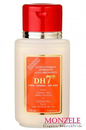 DH7 Lightening 3 in 1 Tonique Lotion with Vitaclear. AHA (150 ml/5.1 fl.oz)