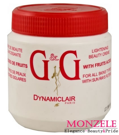 G&G Dynamiclair Body Cream Jar (500 ml/16.9 fl.oz)