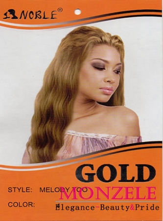 Noble Gold Synthetic Weave Hair Melody Too
