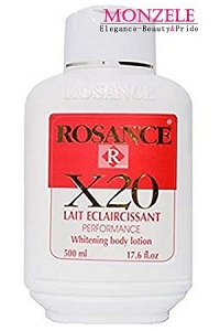 Rosance X20 Whitening Body Lotion (500 ml/16.9 fl.oz)