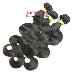 3 PCS Lot 8A Brazilian Virgin Hair Body Wave Virgin Hair