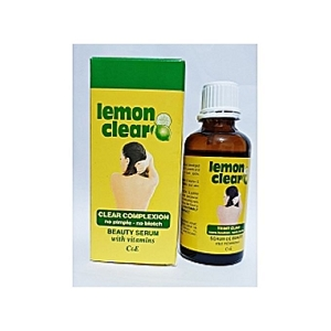 Lemon Clear Brightening Serum for Dark Spots Pimples