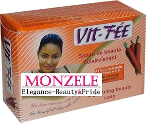 Vit Fee Lightening Beauty Carrot Soap 8 oz / 225 g