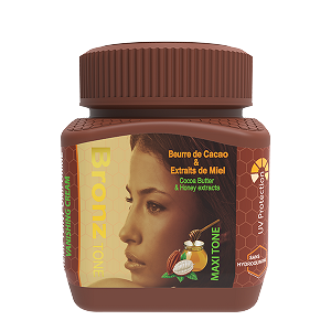 Bronze Tone Maxi Tone Jar cream with Cocoa Butter & Honey  125ml 4.4fl.oz (COPY)