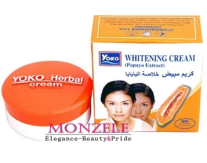 Yoko Papaya Extract Whitening Face Creams 4g