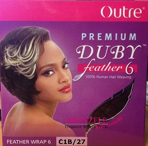 Outre Premium Duby Feather 6 Short Cut Style 100 Human Hair